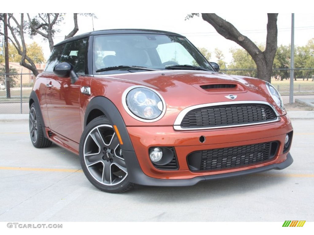 2012 spice orange metallic mini cooper s hardtop 53463850 photo 10 car color. Black Bedroom Furniture Sets. Home Design Ideas