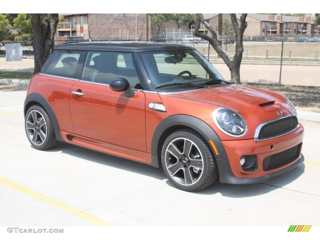 spice orange metallic 2012 mini cooper s hardtop exterior photo 53521597. Black Bedroom Furniture Sets. Home Design Ideas