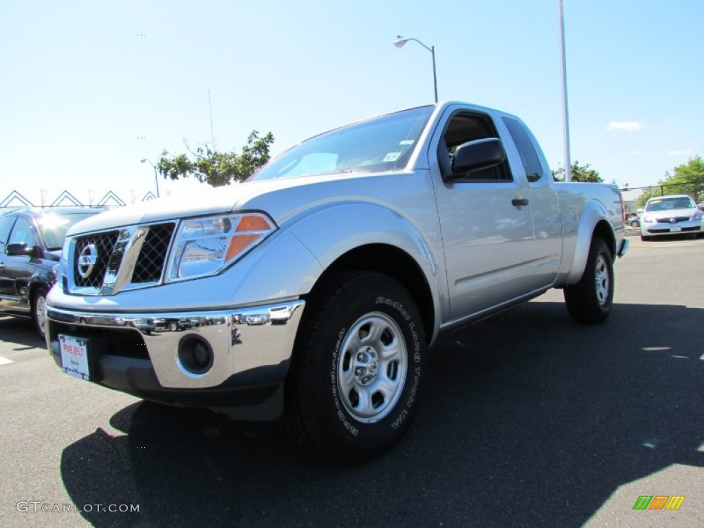 2008 Radiant Silver Nissan Frontier Se V6 King Cab 53464195 Car Color Galleries