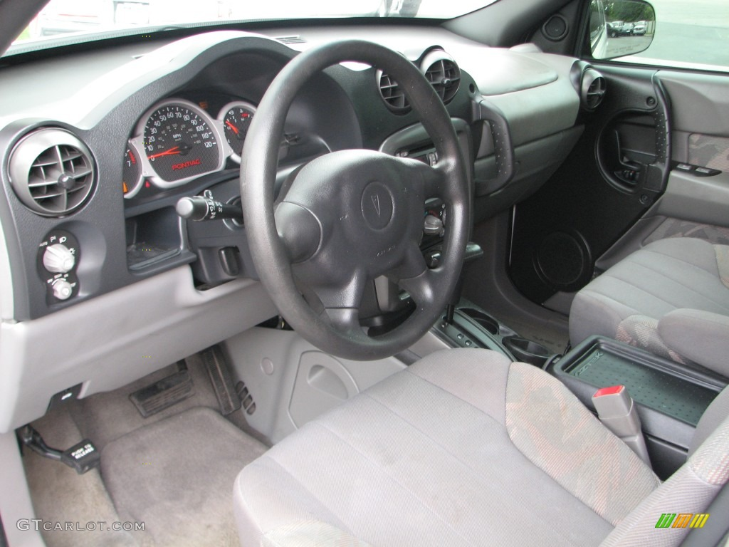 dark gray interior 2002 pontiac aztek standard aztek model. Black Bedroom Furniture Sets. Home Design Ideas