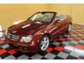 Storm Red Metallic 2008 Mercedes-Benz CLK 350 Cabriolet