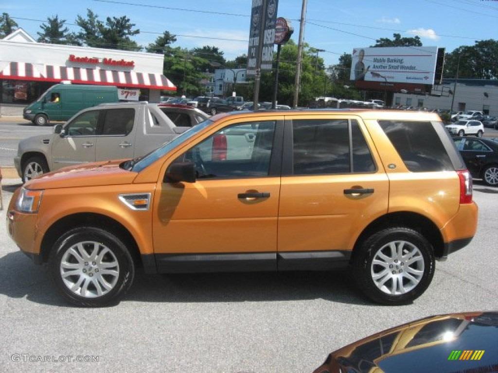 Tambora Flame Orange 2008 Land Rover Lr2 Se Exterior Photo