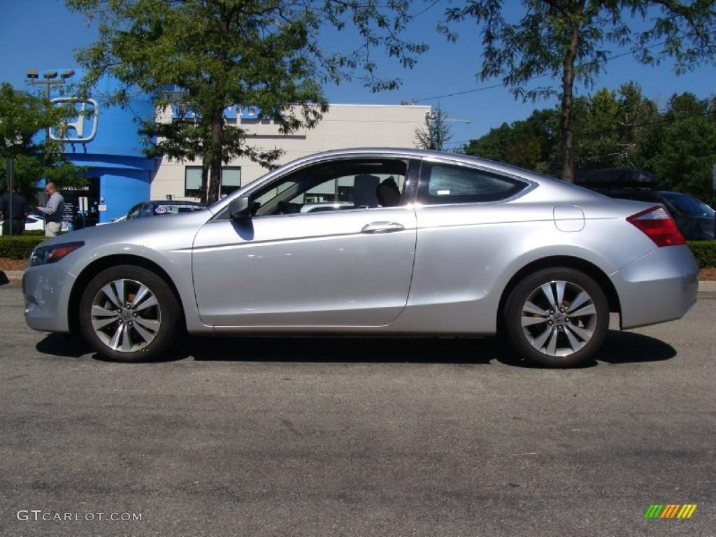 2008 Alabaster Silver Metallic Honda Accord EX Coupe 53464255