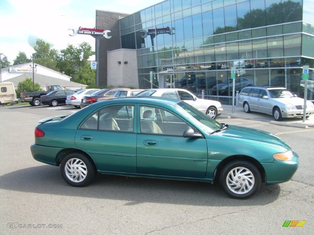 1998 pacific green metallic ford escort se sedan 53545044 gtcarlot com car color galleries gtcarlot com