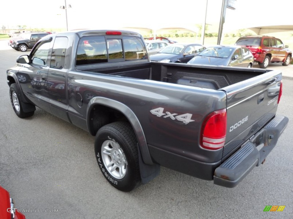Graphite Metallic 2003 Dodge Dakota Sxt Club Cab 4x4