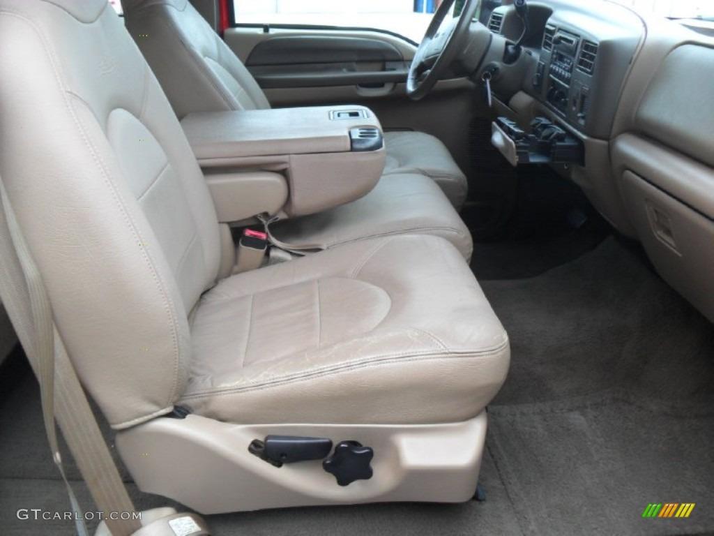 Medium Prairie Tan Interior 1999 Ford F250 Super Duty