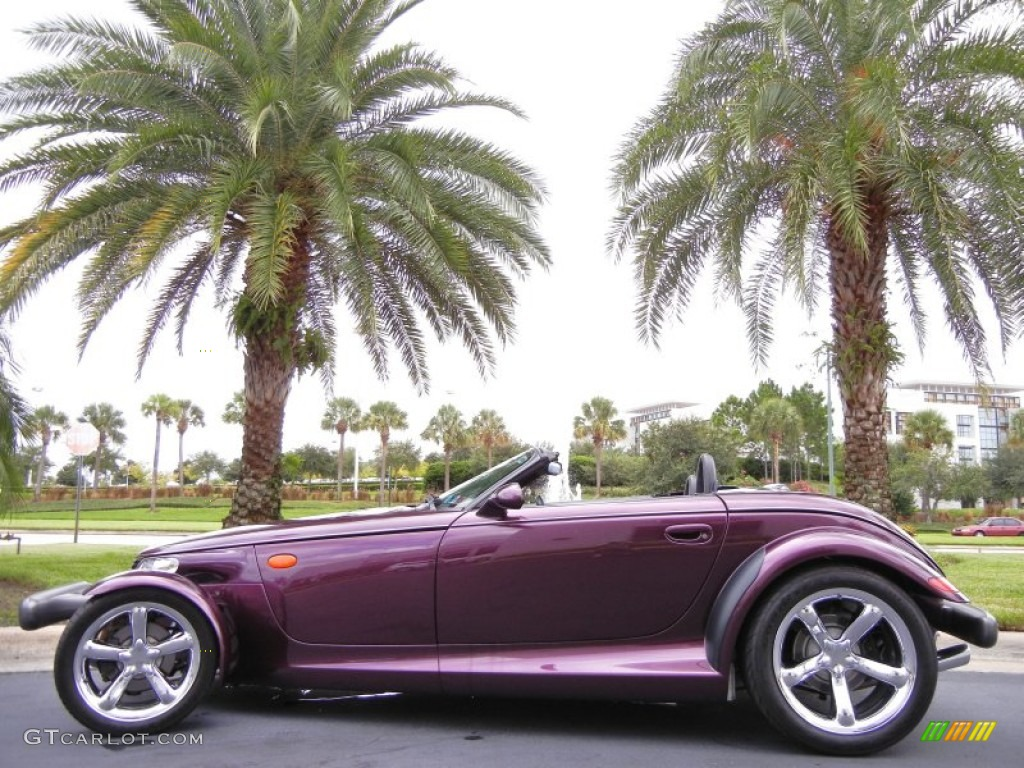 Prowler Purple 1999 Plymouth Prowler Roadster Exterior