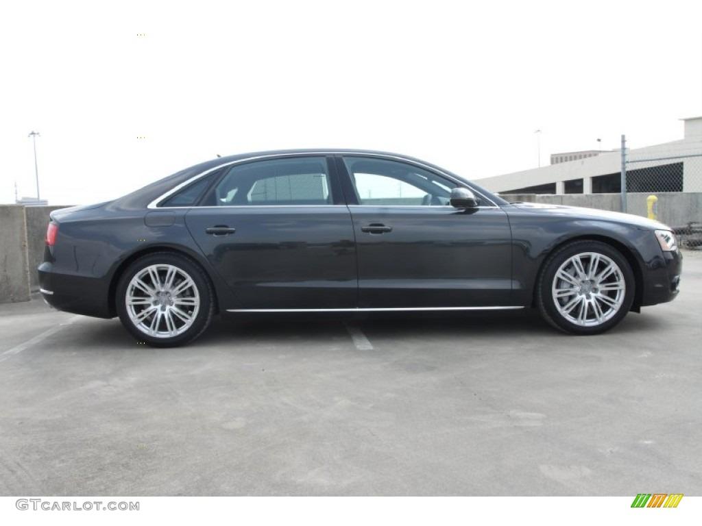 Oolong Gray Metallic 2012 Audi A8 L 4.2 quattro Exterior ...