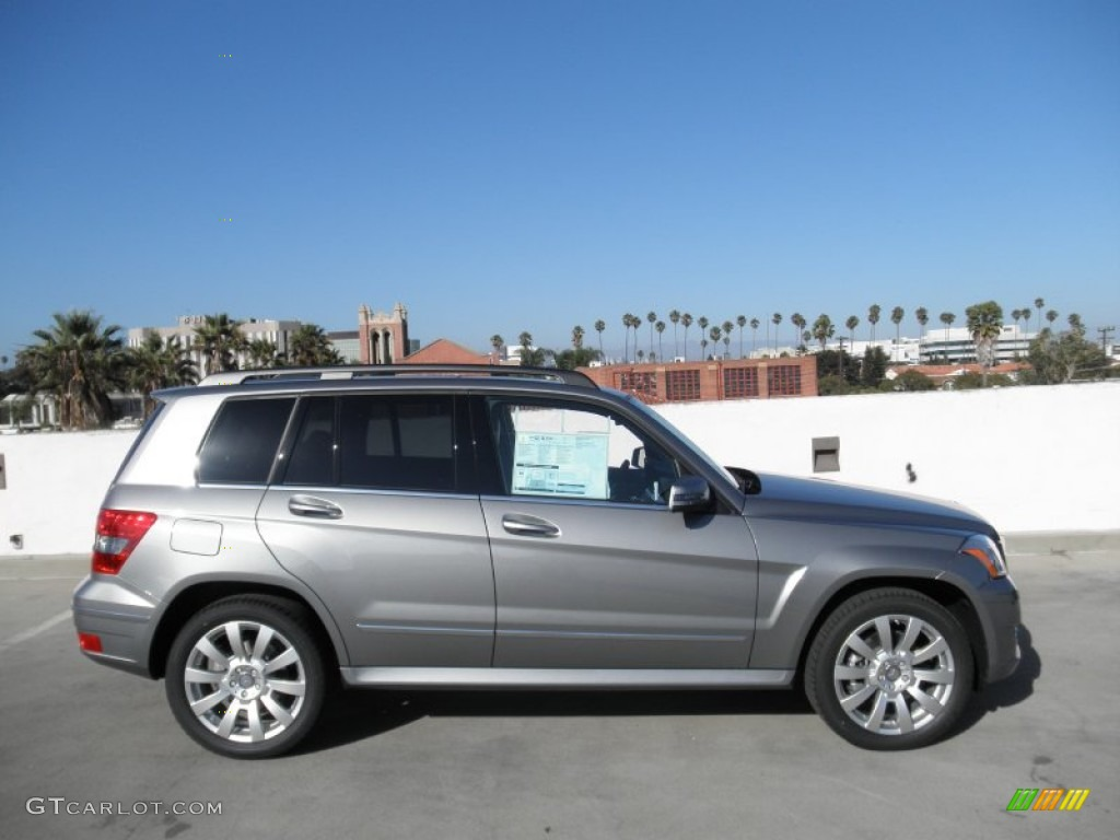 Palladium silver metallic 2012 mercedes benz glk 350 for Mercedes benz glk 2012