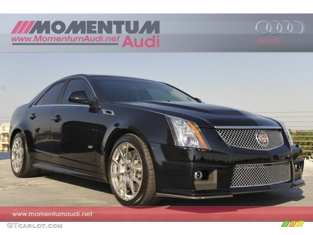 2011 Black Ice Metallic Cadillac Cts V Sedan 53464337