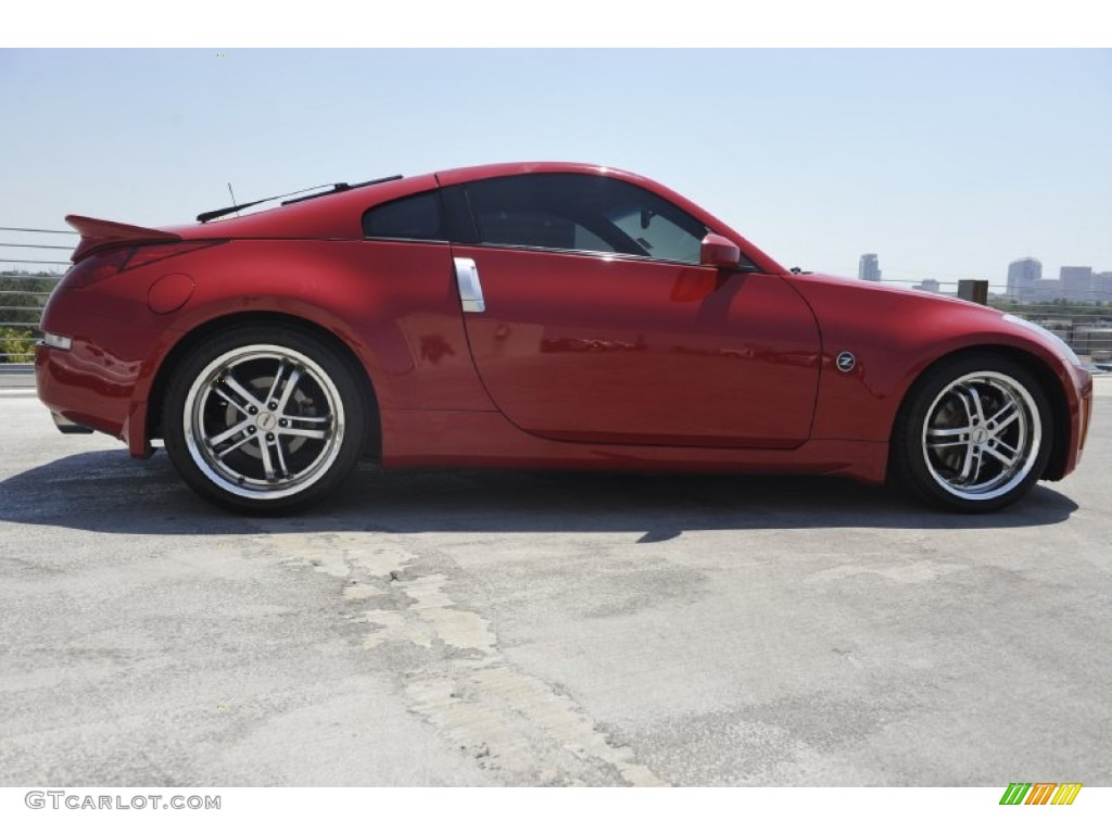 2003 Nissan 350z Enthusiast Coupe Custom Wheels Photo