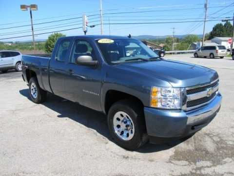 2008 Chevrolet Silverado 1500 LS Extended Cab 4x4 Data, Info and Specs