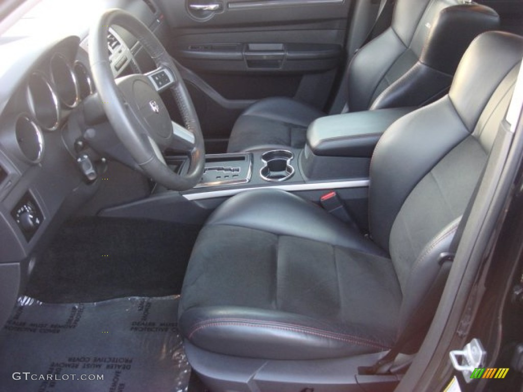 Dark Slate Gray Interior 2010 Dodge Charger SRT8 Photo #53605762
