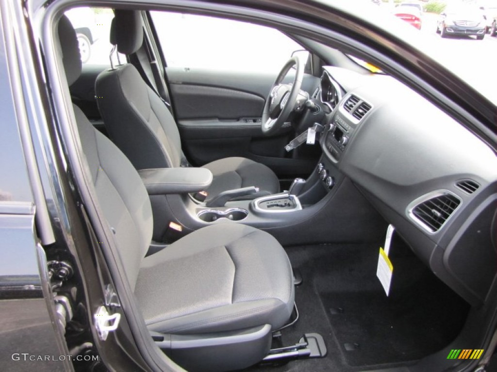 black interior 2012 dodge avenger sxt photo 53606634. Black Bedroom Furniture Sets. Home Design Ideas