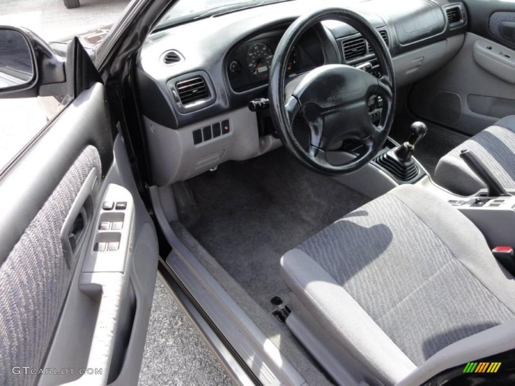Gray Interior 1999 Subaru Impreza Outback Sport Photo