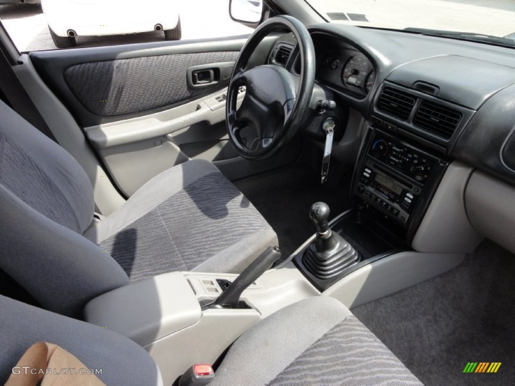 gray interior 1999 subaru impreza outback sport photo #53607324