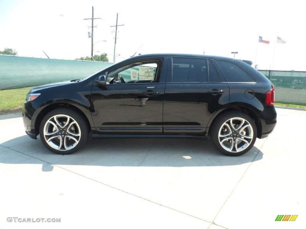 Black 2012 Ford Edge Sport Exterior Photo #53609435 | GTCarLot.com