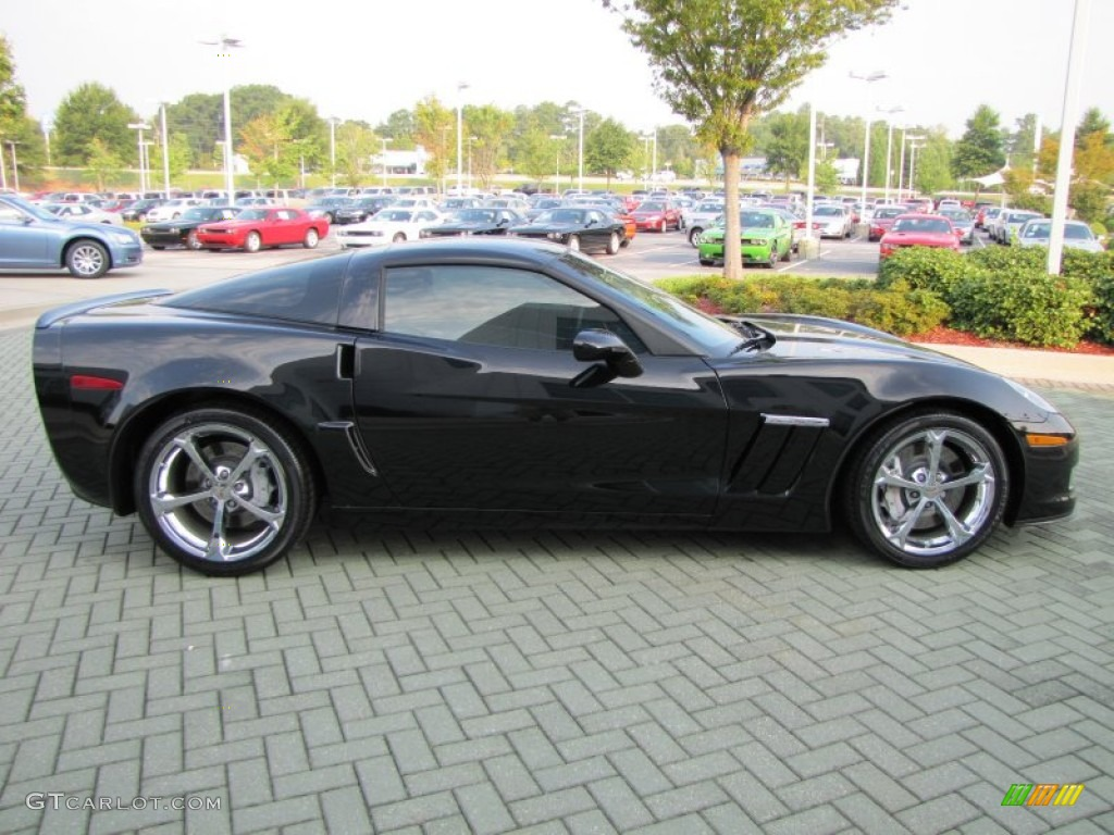 Black 2010 chevrolet corvette grand sport coupe exterior photo 53609775 gtcarlot com
