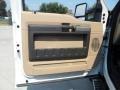 2012 White Platinum Metallic Tri-Coat Ford F250 Super Duty Lariat Crew Cab 4x4  photo #23
