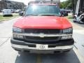2005 Victory Red Chevrolet Silverado 1500 LS Extended Cab  photo #2