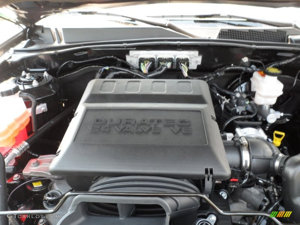 2012 ford escape xlt v6 3 0 liter dohc 24 valve duratec flex fuel v6 engine photo 53613774. Black Bedroom Furniture Sets. Home Design Ideas