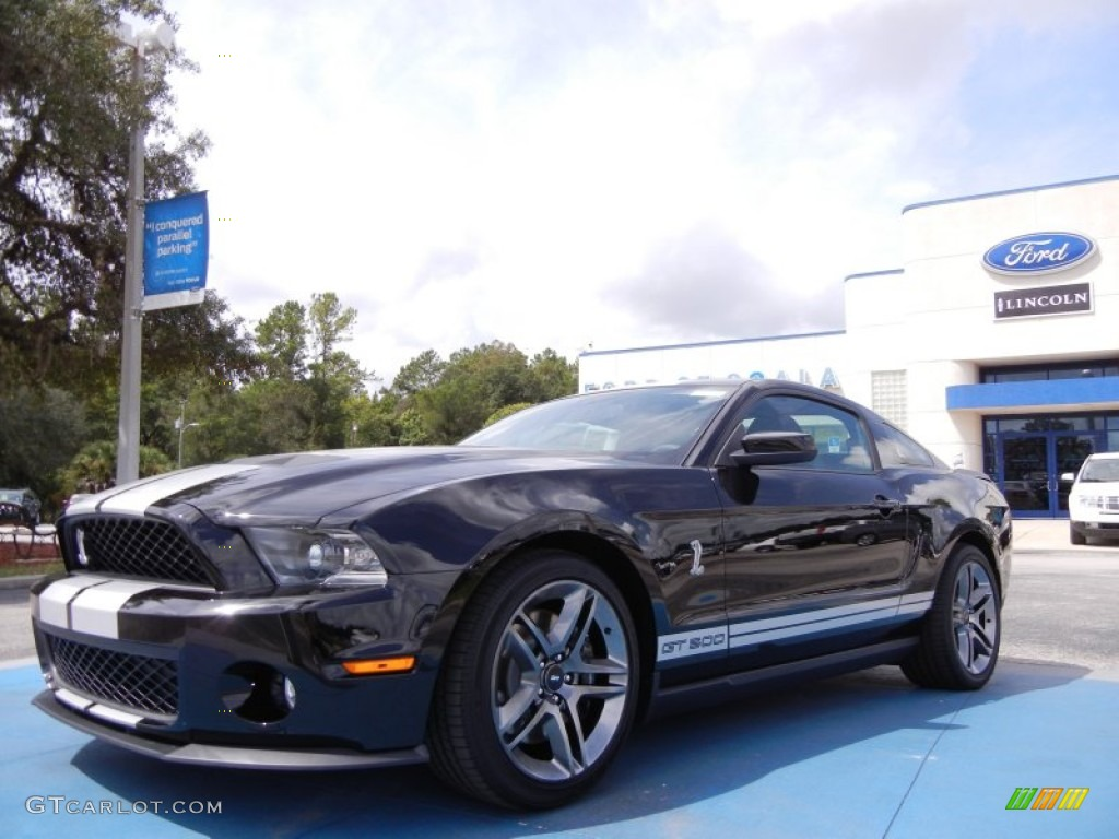 2012 black ford mustang shelby gt500 coupe 53621741 car color galleries. Black Bedroom Furniture Sets. Home Design Ideas