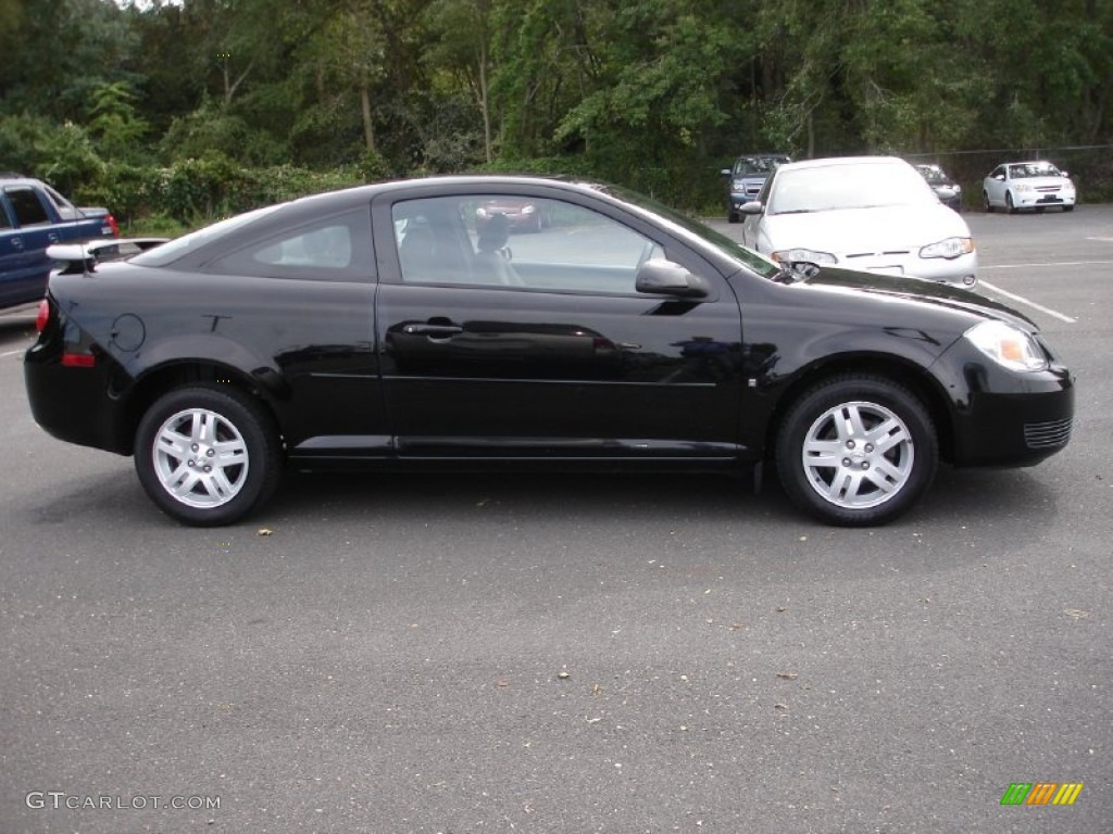 black 2007 chevrolet cobalt lt coupe exterior photo. Black Bedroom Furniture Sets. Home Design Ideas