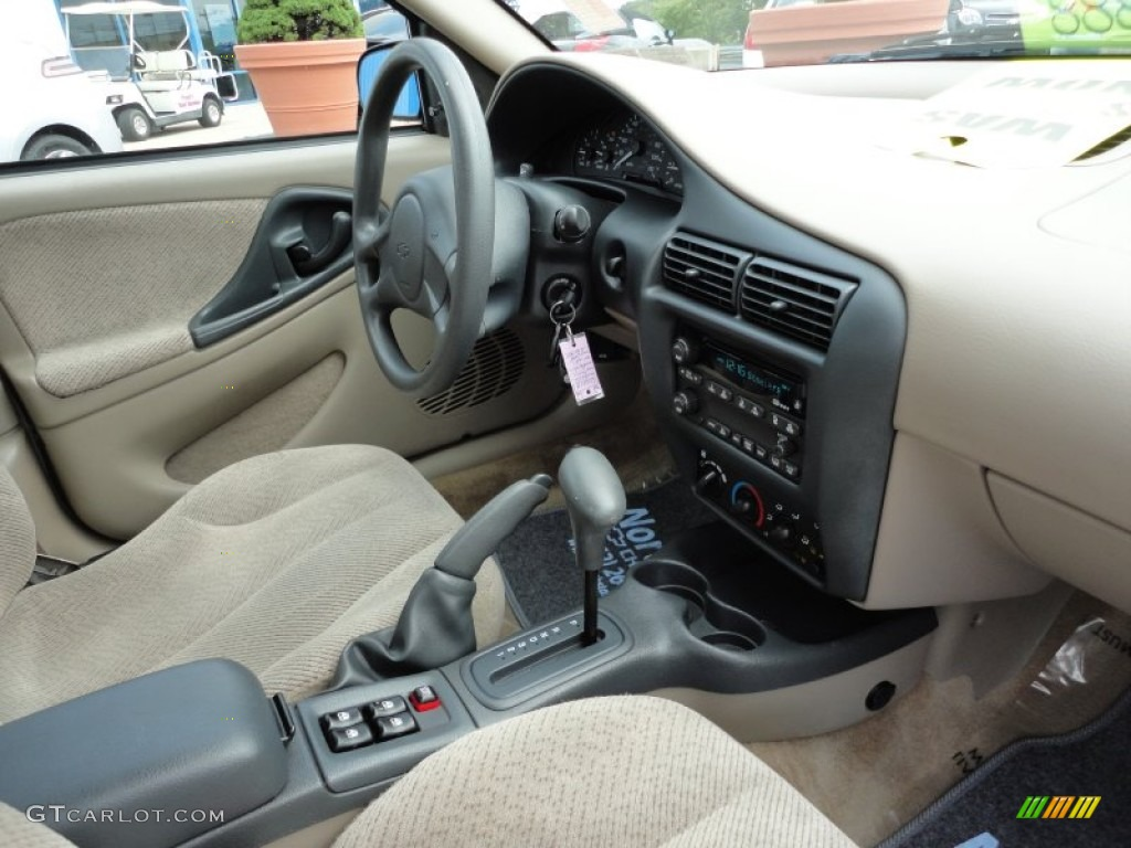 2003 chevrolet cavalier ls sedan neutral beige dashboard for 2003 cavalier window motor