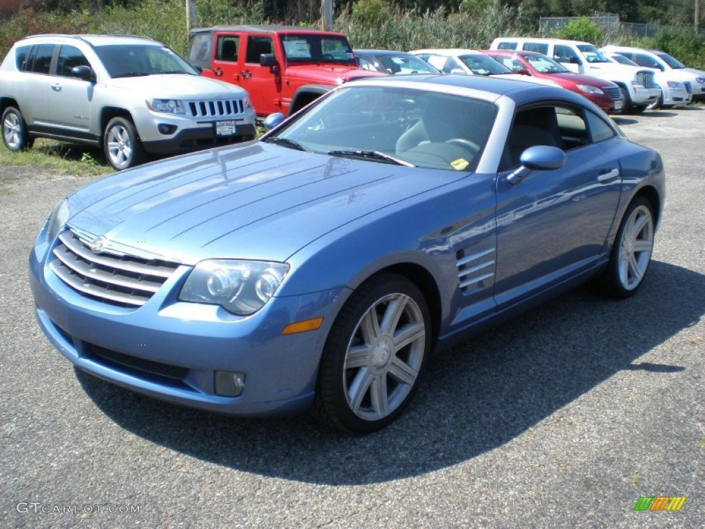 2006 aero blue pearl chrysler crossfire limited coupe 53621618 car color galleries. Black Bedroom Furniture Sets. Home Design Ideas