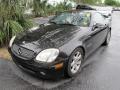 2001 Black Mercedes-Benz SLK 230 Kompressor Roadster  photo #4
