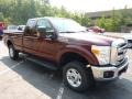 2012 Autumn Red Metallic Ford F250 Super Duty XLT SuperCab 4x4  photo #1