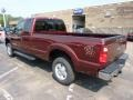 2012 Autumn Red Metallic Ford F250 Super Duty XLT SuperCab 4x4  photo #4