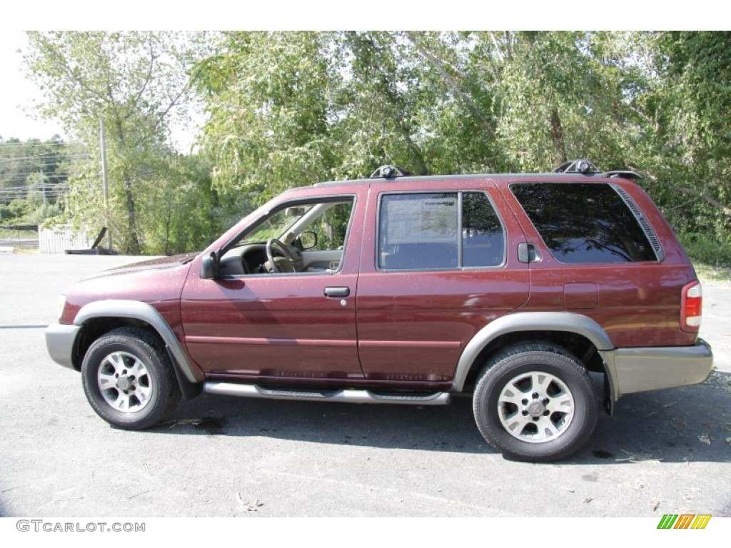 2001 burnt cherry red pearl nissan pathfinder se 4x4. Black Bedroom Furniture Sets. Home Design Ideas