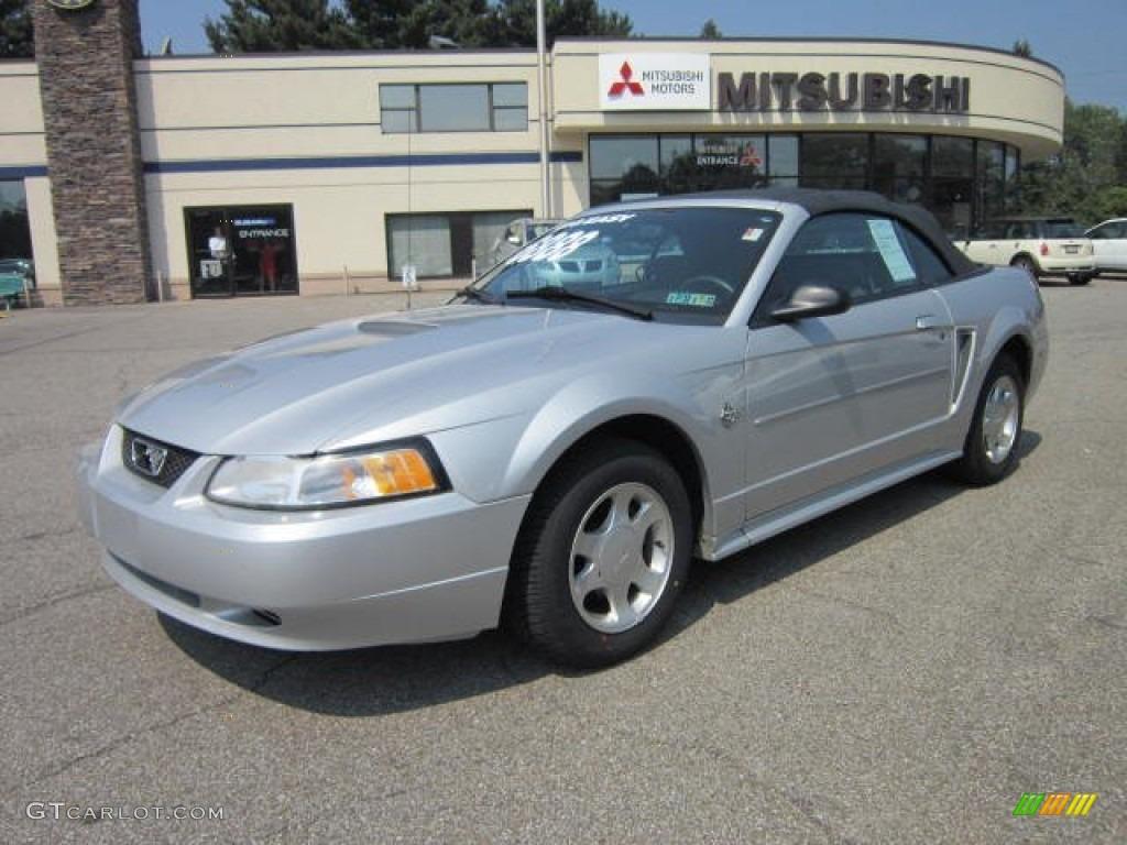 Ford ford mustang 99 : 1999 Silver Metallic Ford Mustang V6 Convertible #53639698 ...
