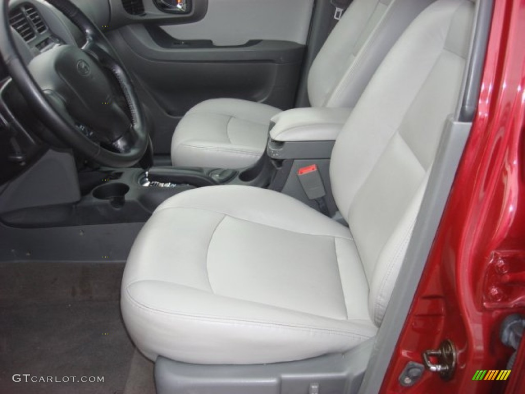 Gray Interior 2005 Hyundai Santa Fe Lx 3 5 Photo 53646964
