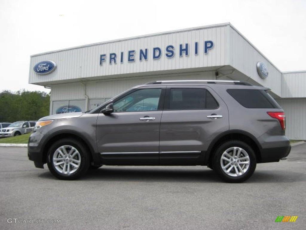 Sterling gray metallic ford explorer ford explorer xlt ecoboost