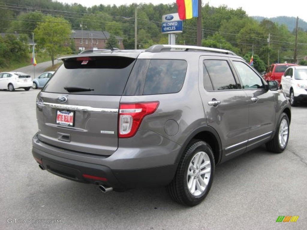 2012 sterling gray metallic ford explorer xlt ecoboost 53647655 photo 6 car. Black Bedroom Furniture Sets. Home Design Ideas
