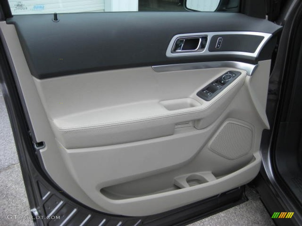 2012 ford explorer xlt ecoboost medium light stone door. Black Bedroom Furniture Sets. Home Design Ideas