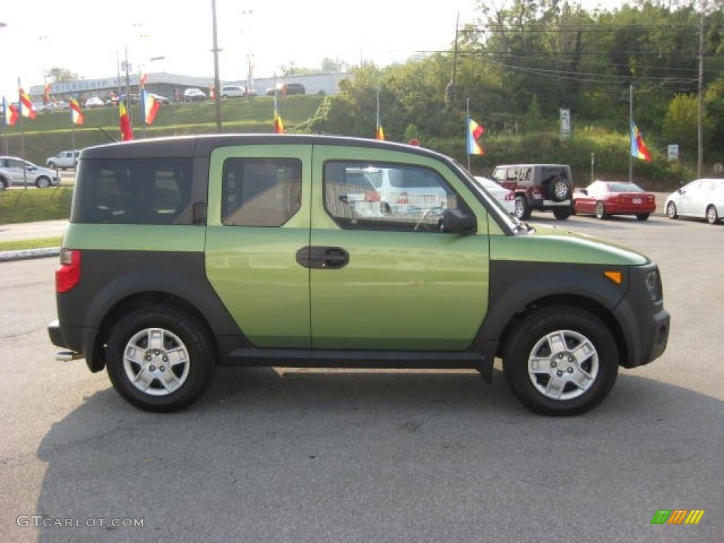 Kiwi Green Metallic 2008 Honda Element Lx Exterior Photo 53649288 Gtcarlot Com