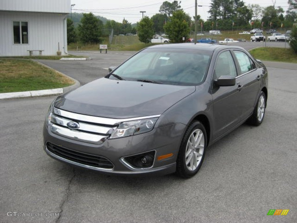 sterling grey metallic 2012 ford fusion sel v6 exterior photo 53649798. Black Bedroom Furniture Sets. Home Design Ideas