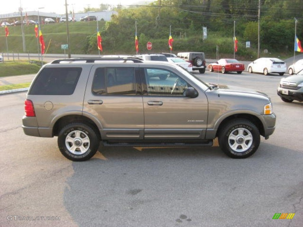 Mineral Grey Metallic 2002 Ford Explorer Limited 4x4