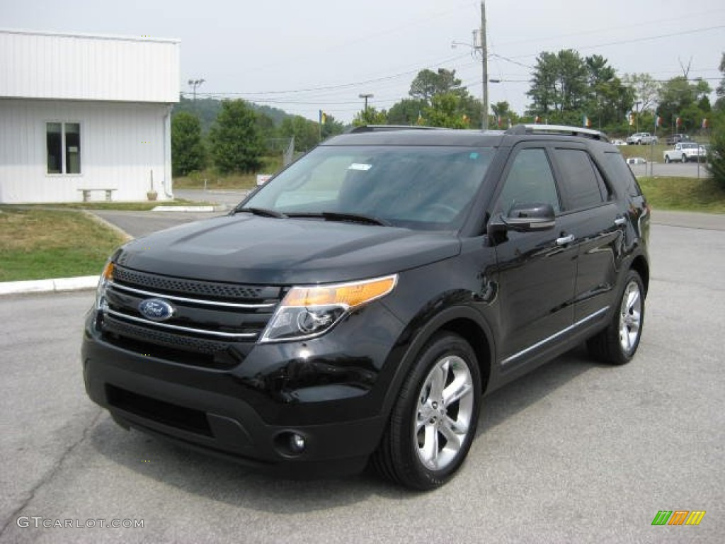 black 2012 ford explorer limited 4wd exterior photo 53650374 - Ford Explorer 2012 Black