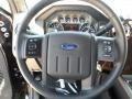 2012 Black Ford F250 Super Duty Lariat Crew Cab 4x4  photo #37