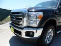 2012 Black Ford F250 Super Duty Lariat Crew Cab 4x4  photo #10