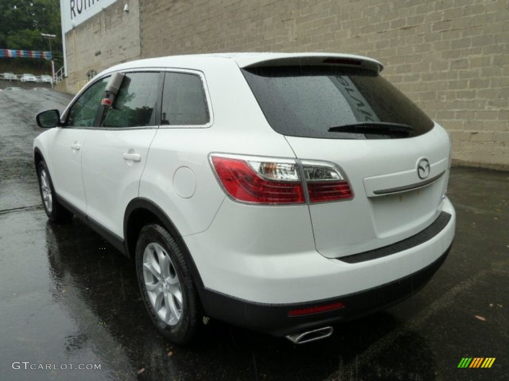crystal white pearl mica 2011 mazda cx 9 touring awd. Black Bedroom Furniture Sets. Home Design Ideas