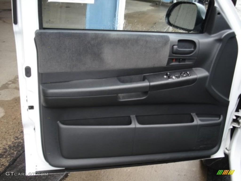 2004 Dodge Dakota Sport Club Cab 4x4 Dark Slate Gray Door Panel Photo 53659109