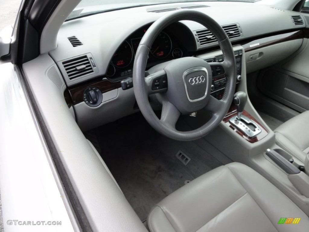 2008 audi a4 2 0t quattro s line sedan light gray dashboard photo 53659307. Black Bedroom Furniture Sets. Home Design Ideas