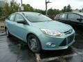 2012 Frosted Glass Metallic Ford Focus SE Sedan  photo #1