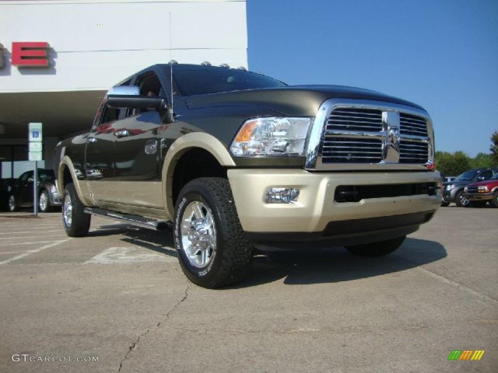 2012 sagebrush pearl dodge ram 2500 hd laramie longhorn - Dodge ram 2500 laramie longhorn interior ...