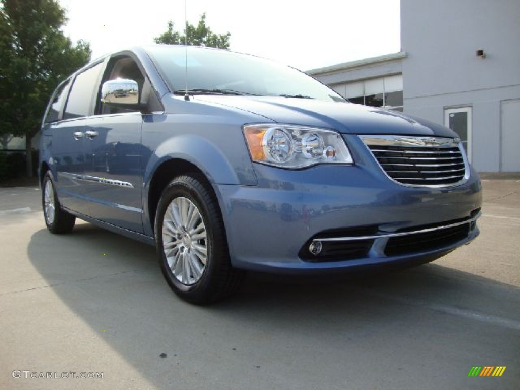 2011 sapphire crystal metallic chrysler town country touring l 53672422. Black Bedroom Furniture Sets. Home Design Ideas